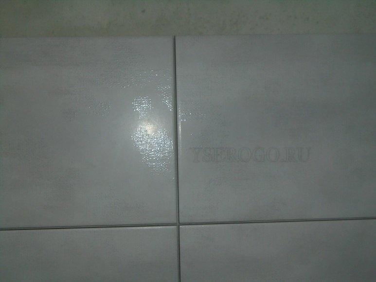 Чистые швы на плиточной облицовке