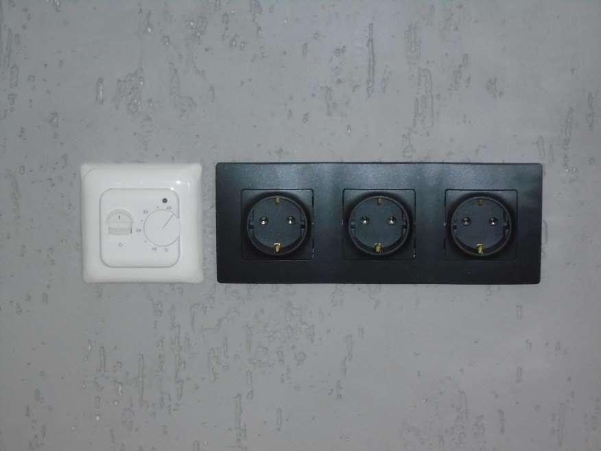 Модульные и немодульные электроустановочные изделия в одном ряду