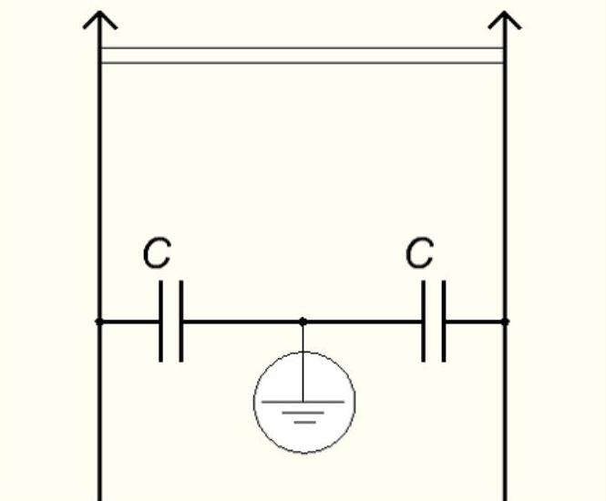 Входной фильтр из конденсаторов