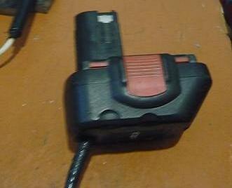 Батарея на проводе